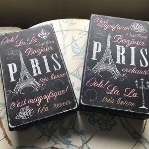 Other - Paris Storage Boxes